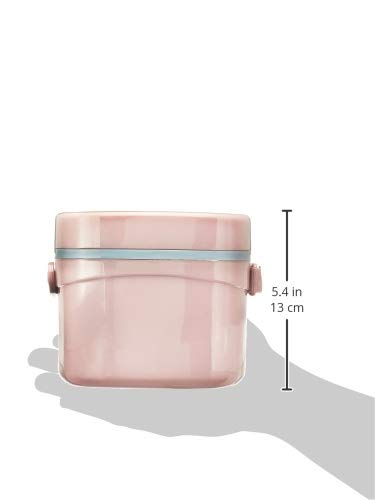 Puro Benz Stainless Steel Lunch Set Pink, 4 image