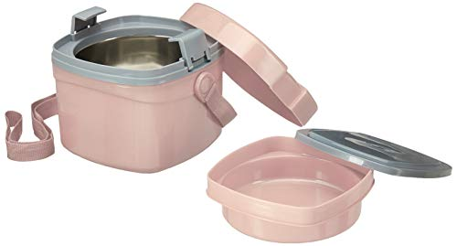 Puro Benz Stainless Steel Lunch Set Pink, 2 image
