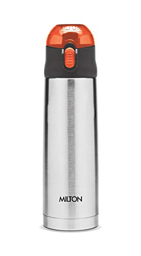 Thermosteel Crown 600 Flask 500ml Silver (Cap colour may vary), 2 image