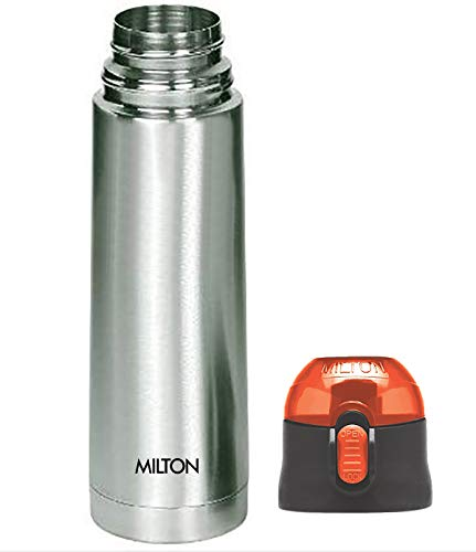 Thermosteel Crown 600 Flask 500ml Silver (Cap colour may vary), 3 image