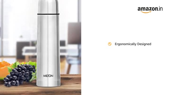 Thermosteel Flip Lid Flask 1000 milliliters Silver, 2 image