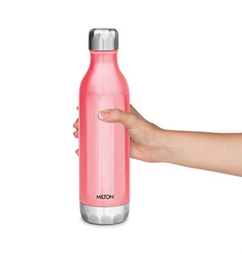 Bliss 600 Thermosteel Water Bottle 540 ml (Pink), 4 image