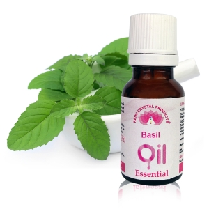 Basil Essential Oil - 15 ml, Aroma Therapy
