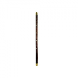 Beautiful Hand Carved With Brass Design Jogging Stick