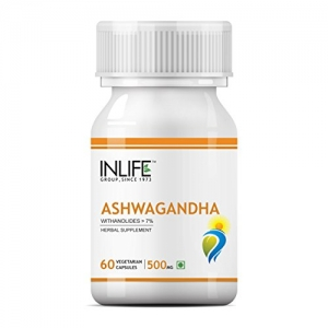 Ashwagandha (Withania Somnifera) Root Pure Extract for Immunity Booster and General Wellness 500 mg - 60 Vegetarian Capsules