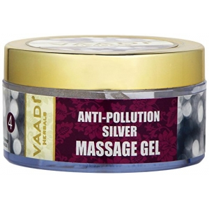 Silver Massage Gel Pure Silver Dust and Sandalwood Oil 50ml