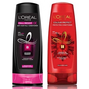 Fall Resist 3X Anti-Hairfall Conditioner 175ml (With 10% Extra) & Color Protect Conditioner 192.5ml (175ml+17.5ml)