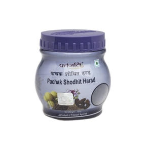 Patanjali Indian Ayurveda Herbal Pachak Shodhit Harad-100gm (Cures Stomach Inflammation,Appetite Loss)