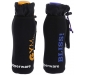 Tupin Plastic Fliptop Bottle with Sleeves 750 ml Multicolour -Set of 2