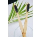 Oral Care Set – Bamboo Toothbrush and Copper Tongue Cleaner (Pack of 2), 2 image