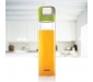 NEO Borosilicate Glass Water Bottle with Green Handle for Fridge and Office 550ml, 5 image