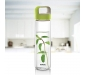 NEO Borosilicate Glass Water Bottle with Green Handle for Fridge and Office 550ml, 4 image