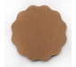 DIY MDF Circle and Scallop Shaped Coasters - (Set of 12)- for Craft/Activity/Decoupage/ting/Resin Work (Scallop Shaped), 2 image