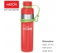 GIST Stainless Steel Water Bottle 480 ml Red, 3 image