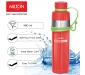 GIST Stainless Steel Water Bottle 480 ml Red, 2 image