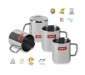 Stainless Steel Coffee Mug - 4 Pieces Silver 210 ml, 2 image