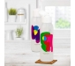 Cool n Chic Bright n Chirpy Plastic Bottle 750ml Set of 2 White, 5 image