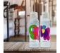 Cool n Chic Bright n Chirpy Plastic Bottle 750ml Set of 2 White, 4 image