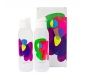 Cool n Chic Bright n Chirpy Plastic Bottle 750ml Set of 2 White